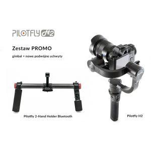 Pilotfly H2 + podwójny uchwyt Bluetooth - zestaw PROMO