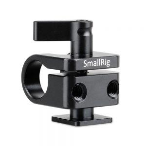 SmallRig 1597 15mm Rod Clamp Cold Shoe - mocowanie rurki na zimną stopkę