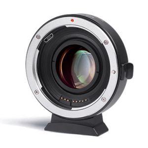 Viltrox EF-FX2 adapter bagnetowy Canon EF do Fuji X 0.71x