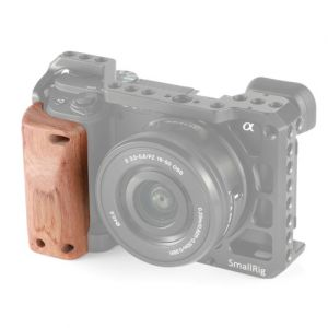 SmallRig 2318 Wooden Handgrip for Sony A6400 Cage - drewniany uchwyt do klatki