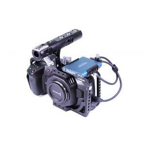 LanParte BMPCC4K-C Camera Cage Set - zestaw operatorski z klatką