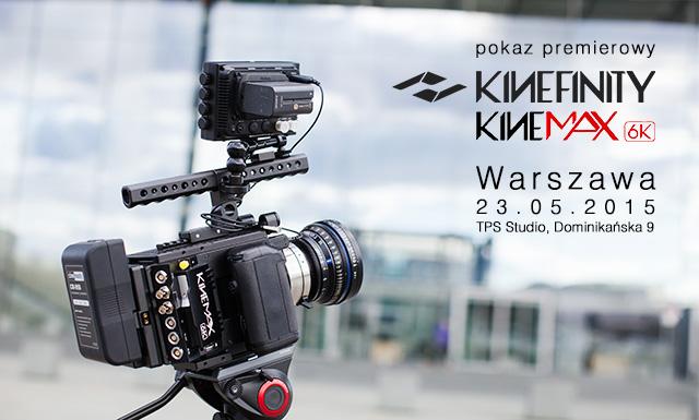 Kinefinity KineMAX pokaz premierowy