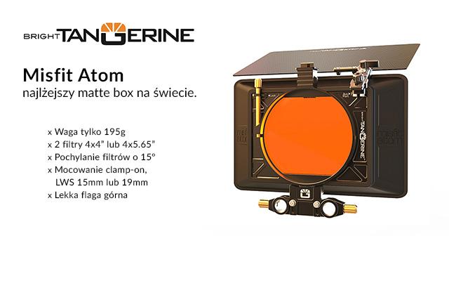 Bright Tangerine Misfit Atom