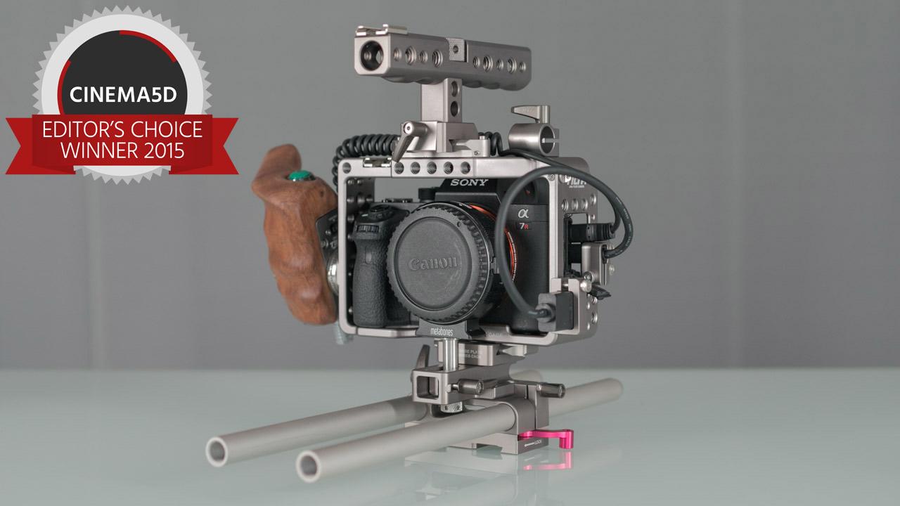 Tilta ES-T17-A zwycięzca testu na najlepszą klatkę dla Sony A7II wg. Cinema5d.com