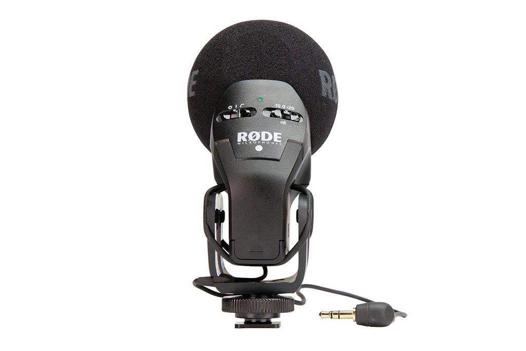 Rode Stereo VideoMic Pro - filtr górnoprzepustowy, tłumik