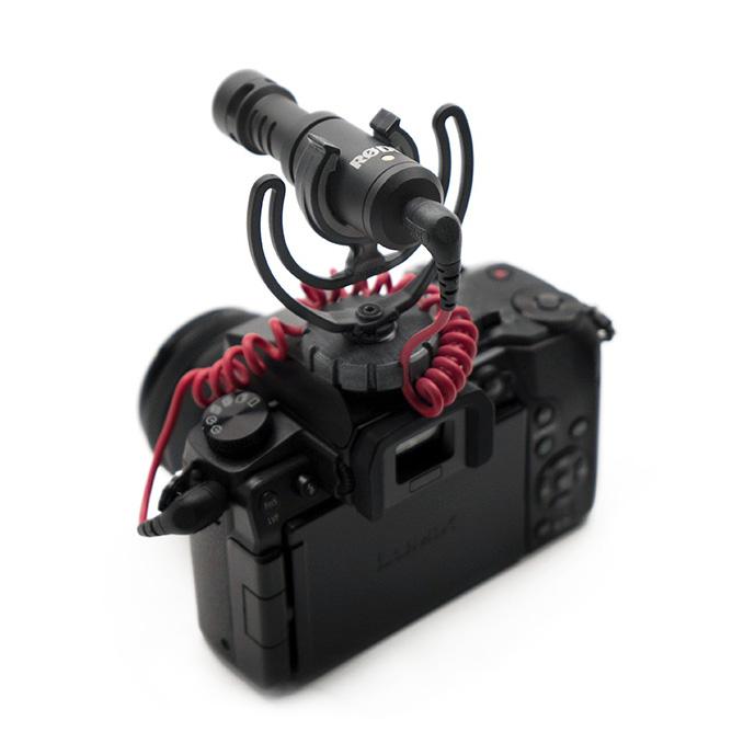 Rode VideoMicro - mały i lekki mikrofon nakamerowy