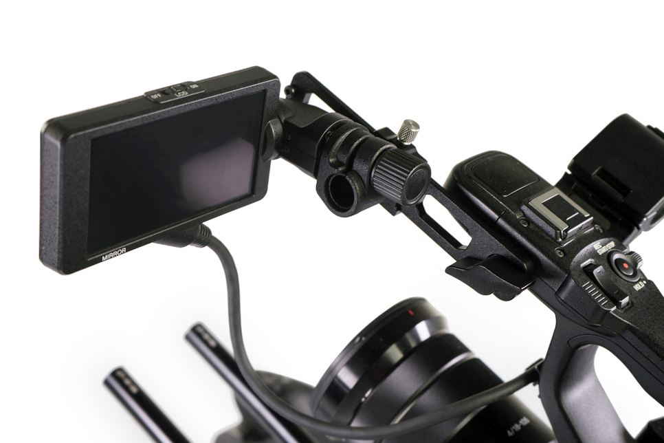LanParte MEA-01 Monitor Extension Arm - ramię lupy/monitora do kamery Sony FS5