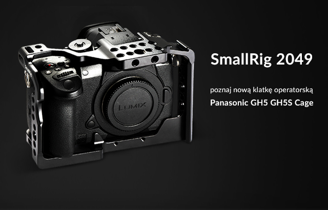 SmallRig 2049 Panasonic GH5 GH5S Cage