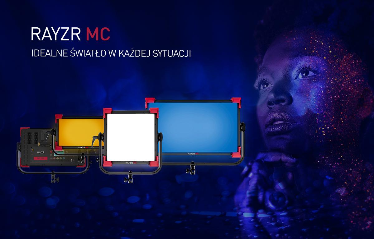 Oświetlenie filmowe Rayzr MC