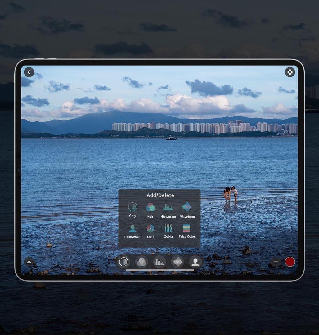 Accsoon CineEye 2S Pro HDMI + SDI aplikacja