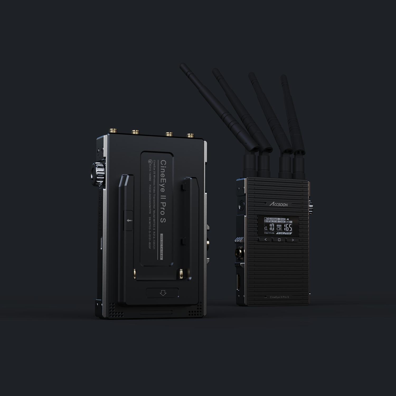 Accsoon CineEye 2S Pro HDMI + SDI zasilanie