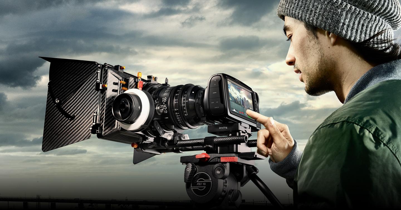 Blackmagic Pocket Cinema Camera 6K obiektywy