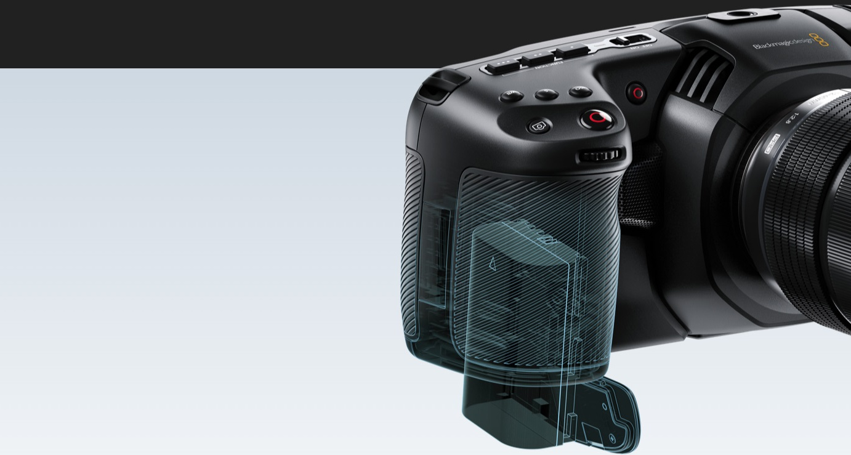 Blackmagic Pocket Cinema Camera 6K zasilanie