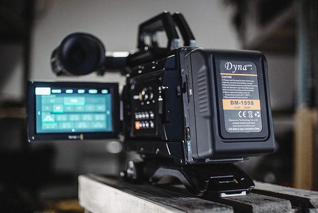 Akumulator V-lock Dynacore DM-155S dla kamer i akcesoriów w lekkiej i kompaktowej wersji MINI