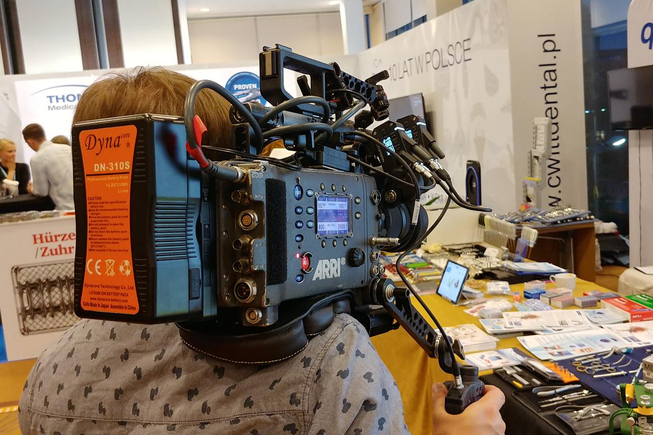 Dynacore DN-310S - akumulator V-mount do kamer filmowych i aparatów