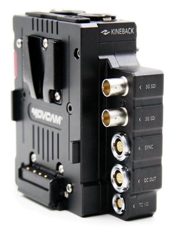 Kinefinity KineBack - moduł z wyjściami SDI, TC, SYNC, XLR i D-tap do kamer Terra