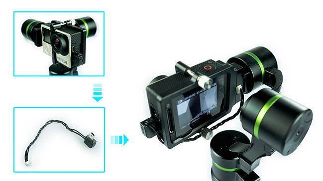 LanParte LA3D gimbal GoPro Hero 4