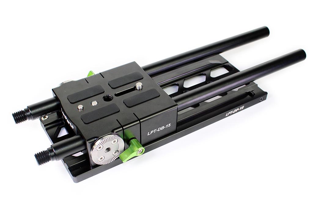 LanParte DB-15-L - baseplate LWS 15mm do kamer i aparatów, posiada rozety
