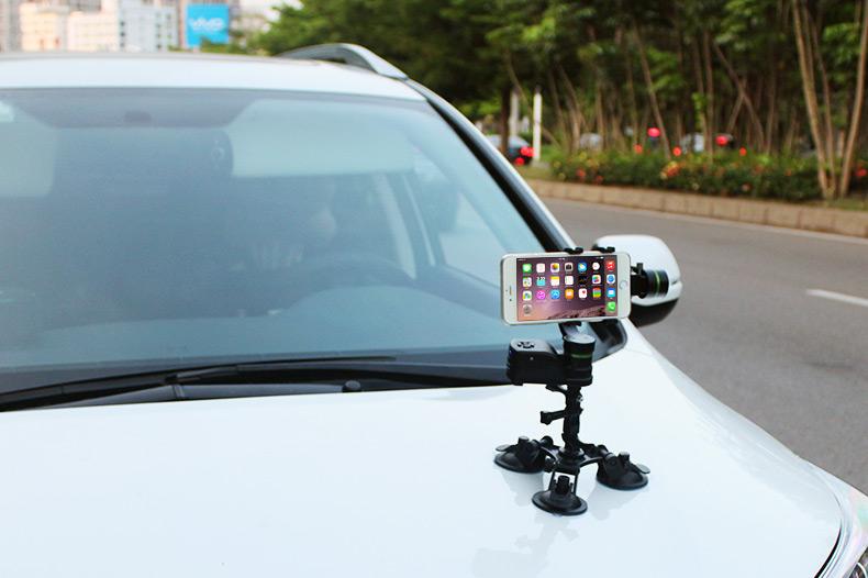 gimbal LanParte LA3D-S  dla smartfonów - zdalne bezprzewodowe sterowanie