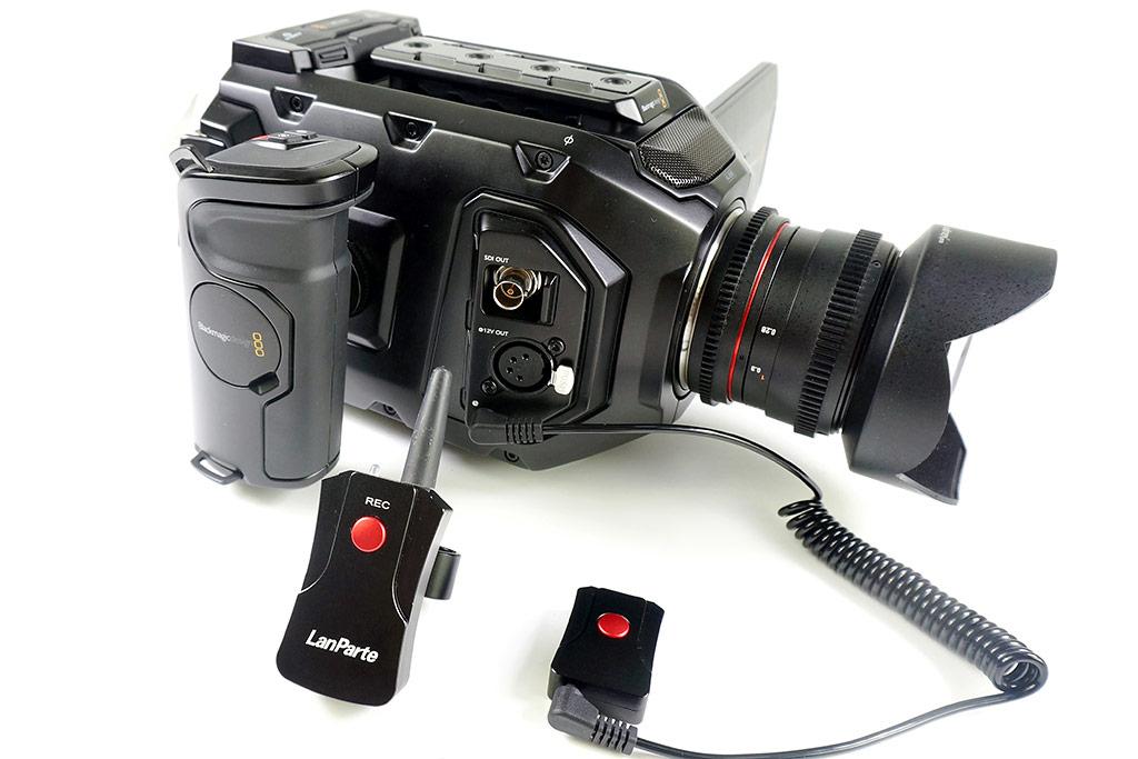 LanParte LANC-02 - bezprzewodowy kontroler START / STOP do kamery i aparatu