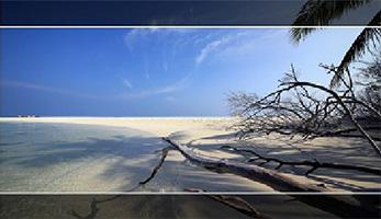 Lilliput A7 - aspect marker wyświetla znaczniki wybranego formatu obrazu