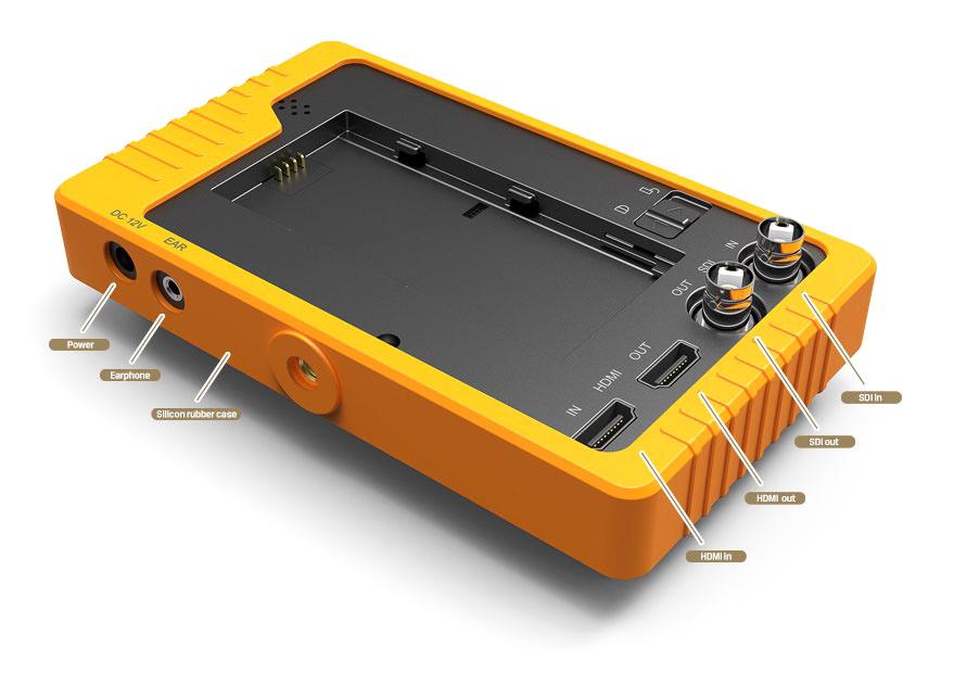 """Lilliput Q5 - monitor podglądowy 5.5"""" z wbudowanym konwerterem SDI / HDMI"""