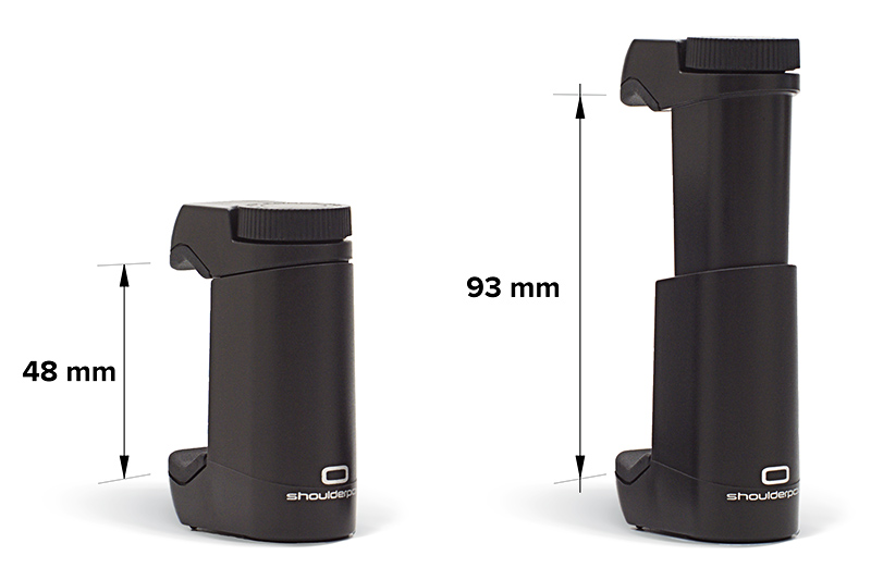 Shoulderpod G1 - uchwyt do smartphone z regulacją
