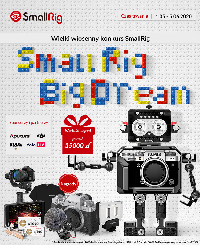 SmallRig - Big Dream. Konkurs z nagrodami marzeń!