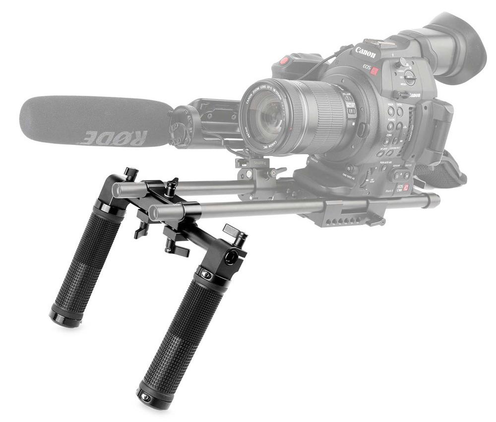 SmallRig 998 CoolHandles DSLR Rig - zestaw uchwytów do stabilizacji kamery lub aparatu, rig'a DSLR