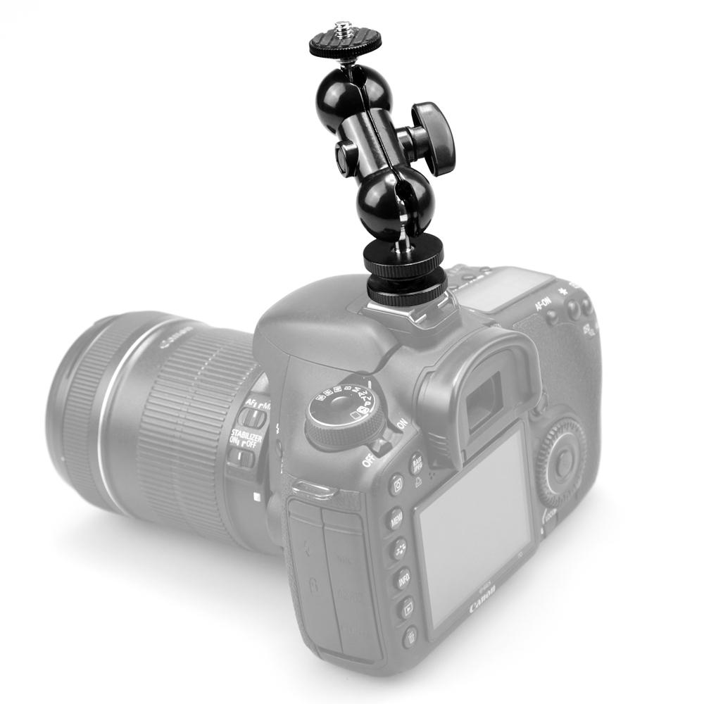 SmallRig 1135 Double BallHead - wieżyczka z podwójną głowicą kulową i mocowaniem na stopkę aparatu