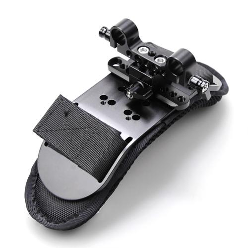 """SmallRig 1255 SWAT NATO Clamp - mocowanie na szynę z otworami 1/4 i 3/8"""""""
