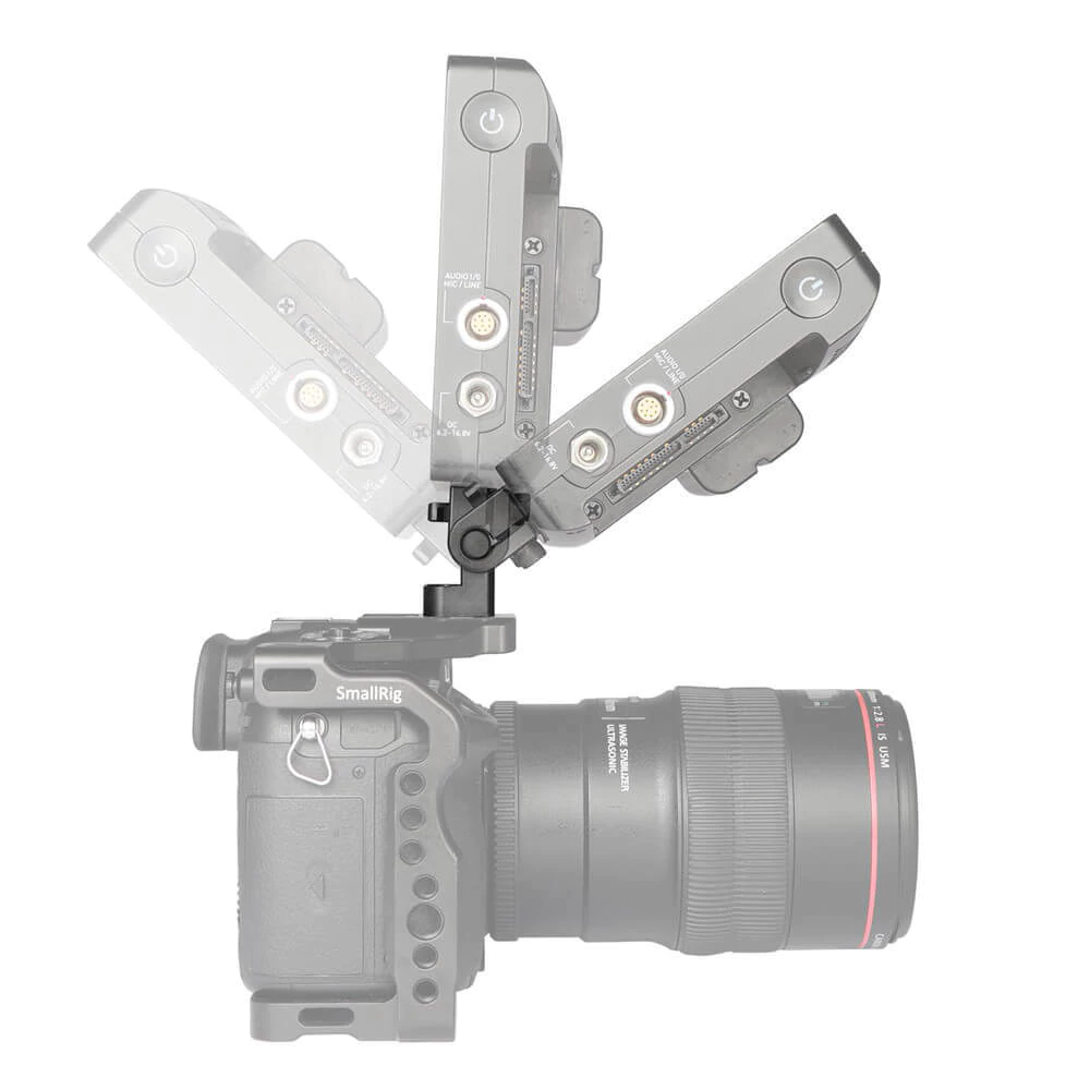 SmallRig 1842 DSLR Monitor Holder Mount - mocowanie monitora, EVF lub rekordera z płynną regulacją pochylenia