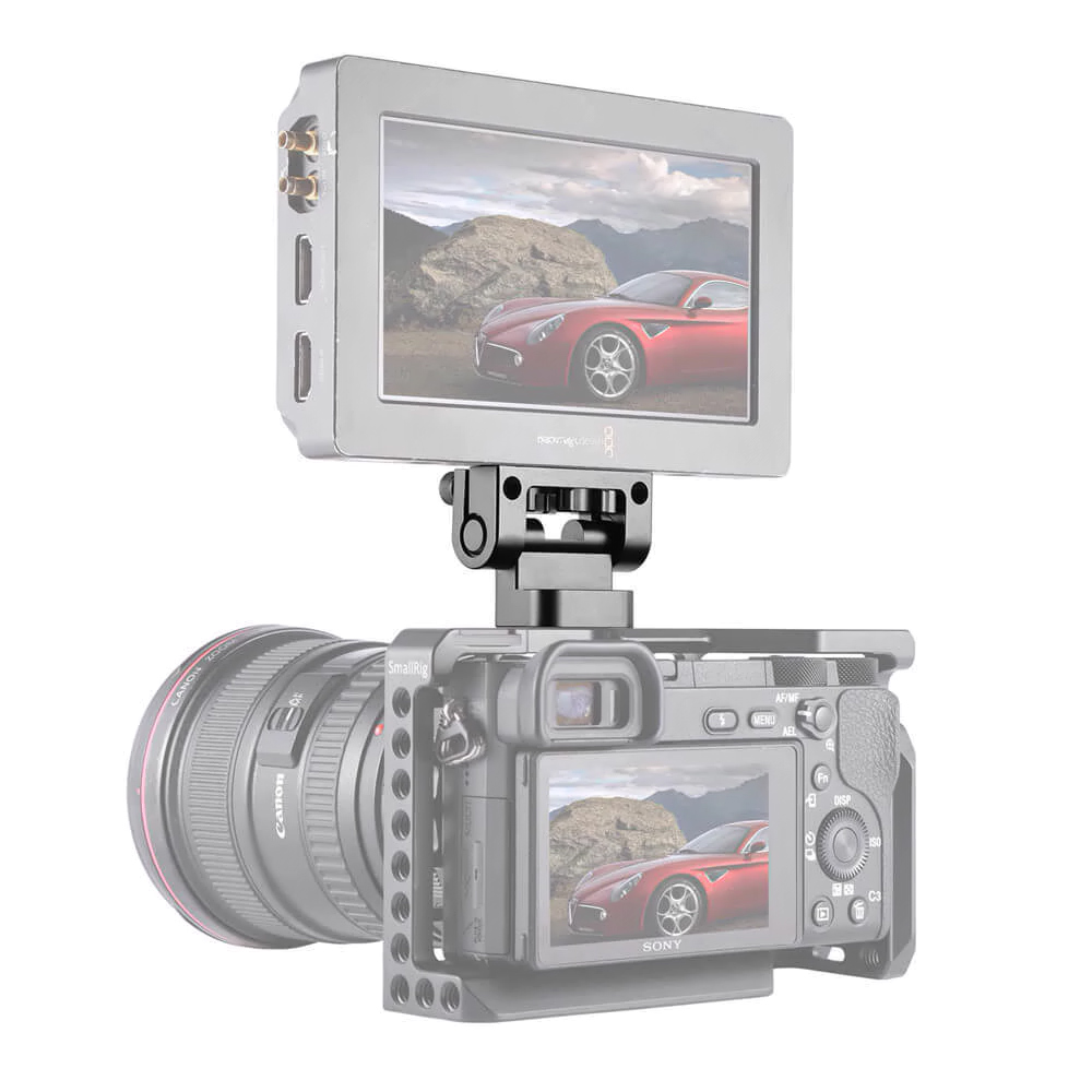 SmallRig 1842 DSLR Monitor Holder Mount - mocowanie monitora, EVF lub rekordera do aparatów Sony A6500, A6300 i A7.