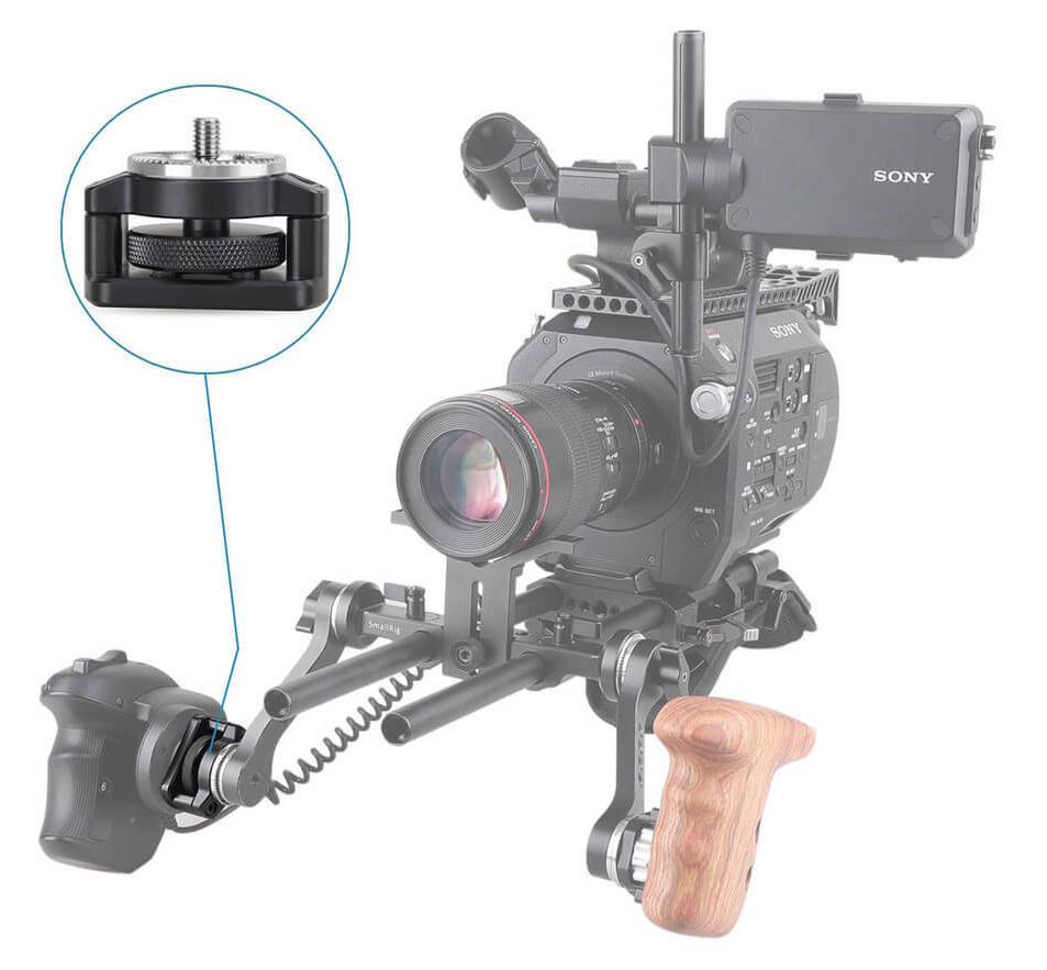 SmallRig 1887 - mocowanie gripu kamery Sony PXW-FS7 i FS7II z rozetą ARRI M6