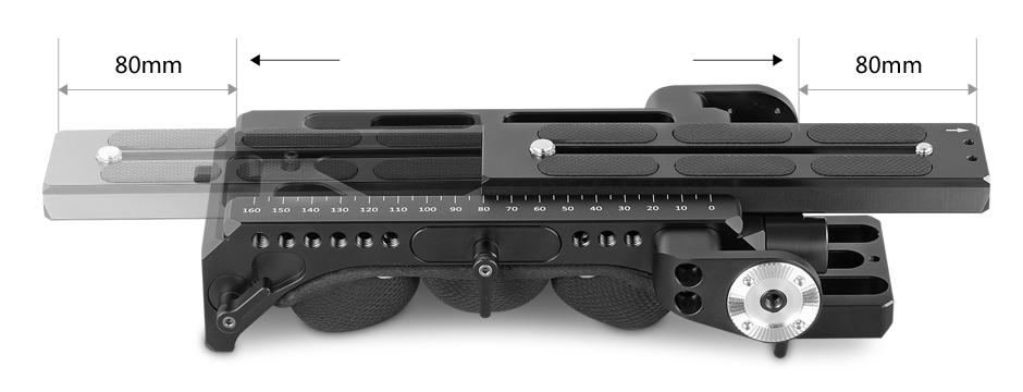 SmallRig 1954 VCT-14 Shoulder Baseplate - stabilizator naramienny, regulowana płytka Manfrotto 501PL