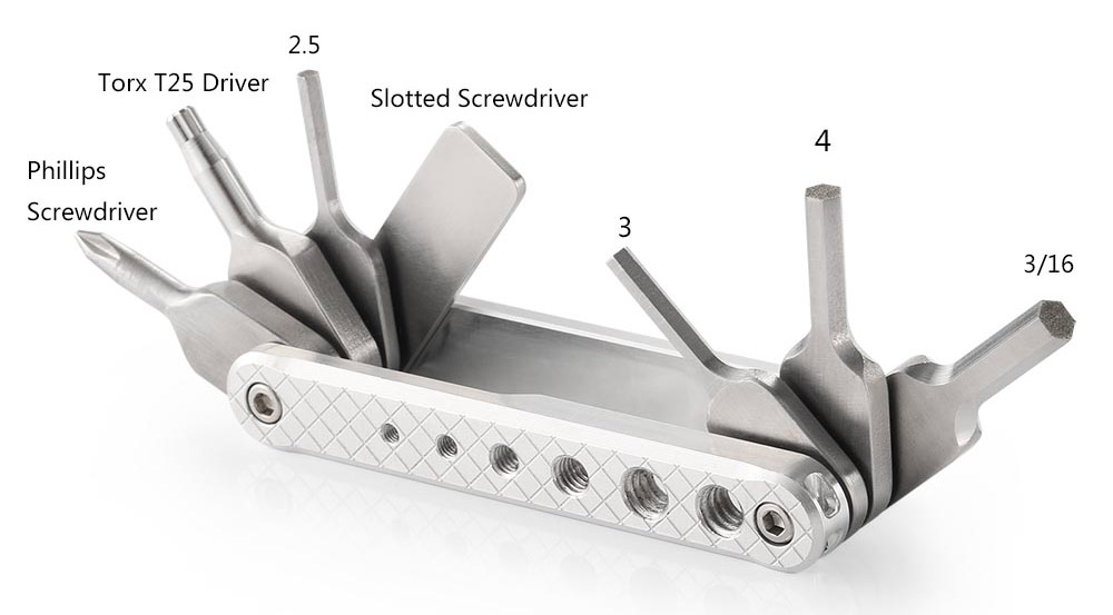 SmallRig 2213 Folding Tool Set - do wygrania siedem zestawów narzędzi 7w1 dla operatorów filmowych