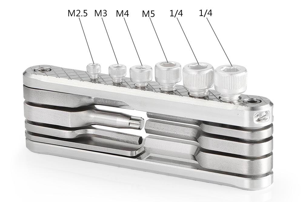 SmallRig 2213 Folding Tool Set Screwdrivers & Wrenches - wielofunkcyjny zestaw śrubokrętów i kluczy dla fotografa i filmowca