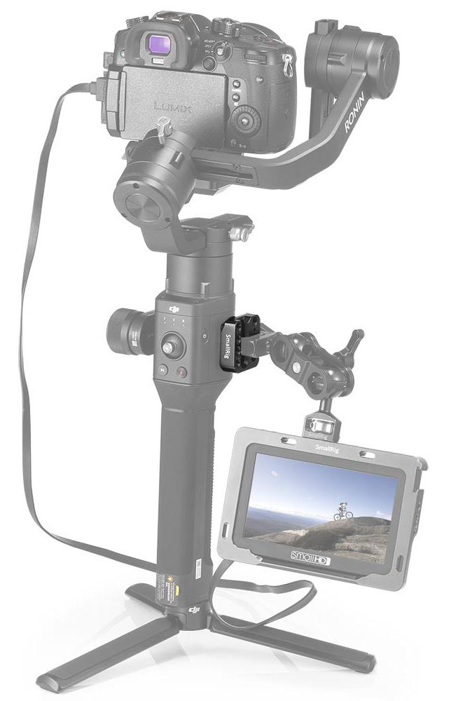 Smallrig 2214 DJI Ronin S Mounting Plate - płytka montażowa do gimbala dla akcesoriów, monitora podglądowego, mikrofonu