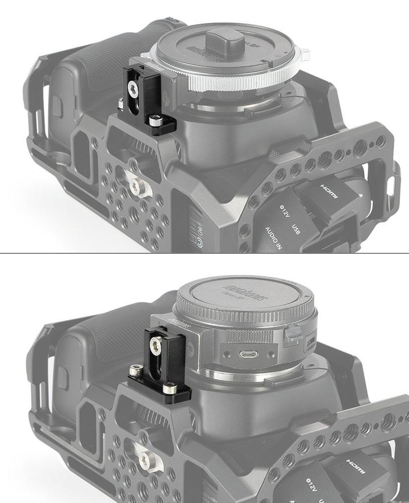 SmallRig 2247 Metabones Adapter Support BMPCC 4K - podpórka adapterów Speed Boster XL i Speed Booster ULTRA