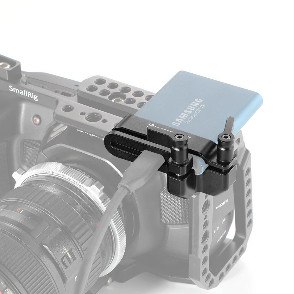SmallRig 2245 Samsung T5 SSD Mount - uchwyt montażowy dysku dla kamery BMPCC 4K