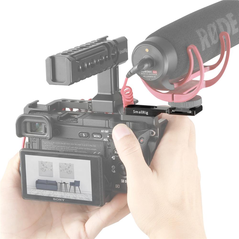 SmallRig 2044 Cold Shoe Extension - przedłużone mocowanie zimna stopka do akcesoriów foto i video
