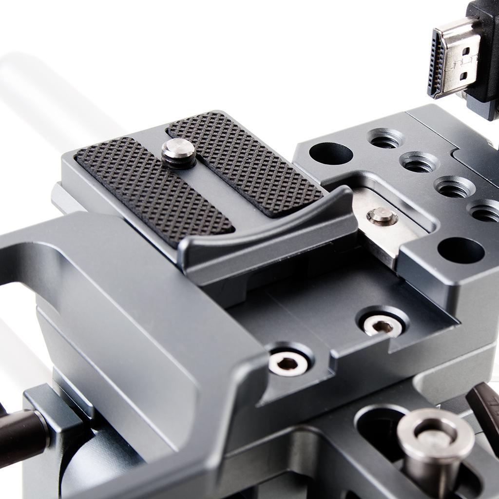 Tilta ES-T37 Panasonic GH5 GH4 Cage - szybkozłączka aparatu, podpórka adapterów obiektywu