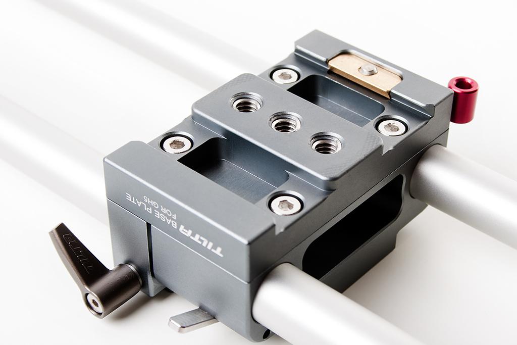 "Tilta ES-T37 Panasonic GH5 GH4 Cage - punkty mocujące 1/4"" baseplate"