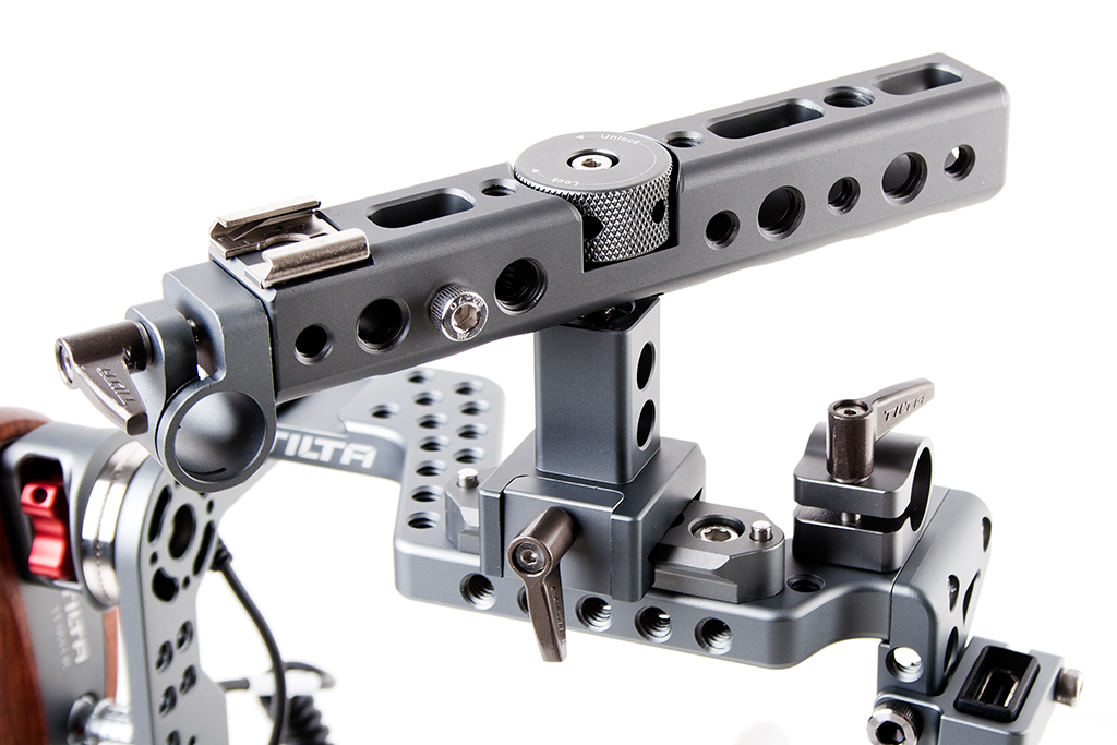 Tilta ES-T37 Panasonic GH5 GH4 Cage - regulowany uchwyt górny Top Handle