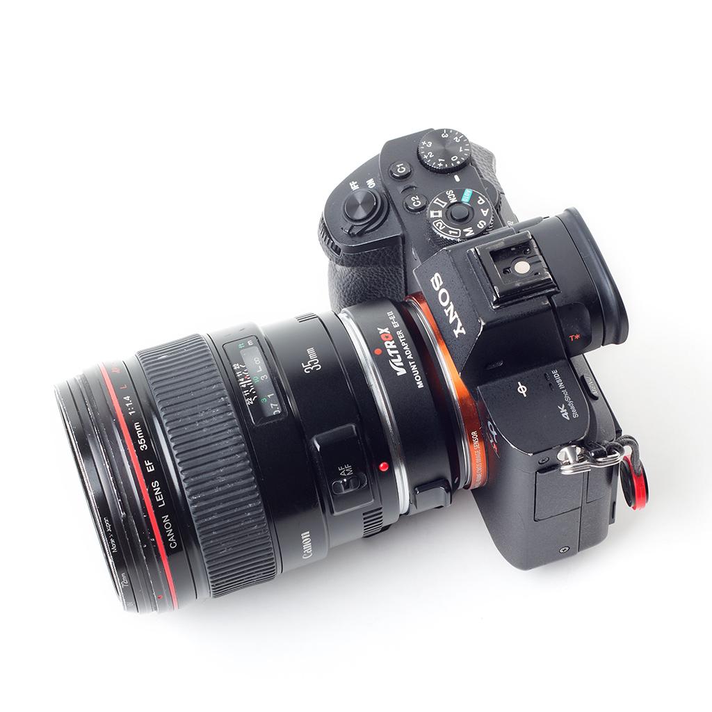 Viltrox EF-E II - adapter Canon EF do Sony E-mount z funkcją Speed Booster 0.71x +1 f-stop