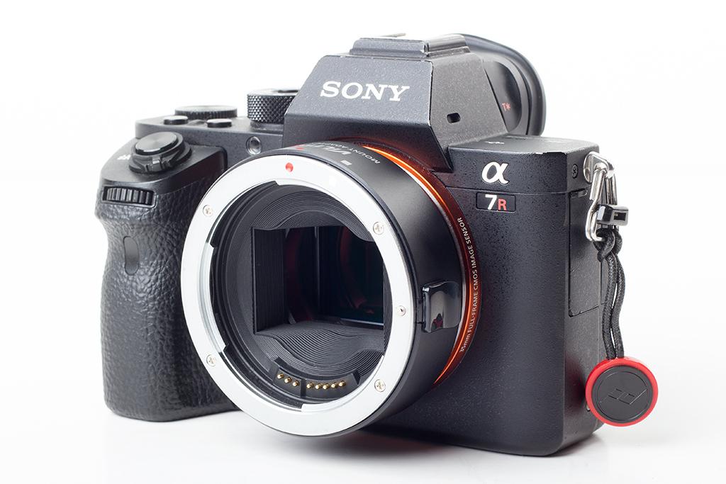 Viltrox EF-NEX IV - adapter bagnetowy Sony E z szybkim auto-focus dla obiektywów z mocowaniem Canon EF i EF-S