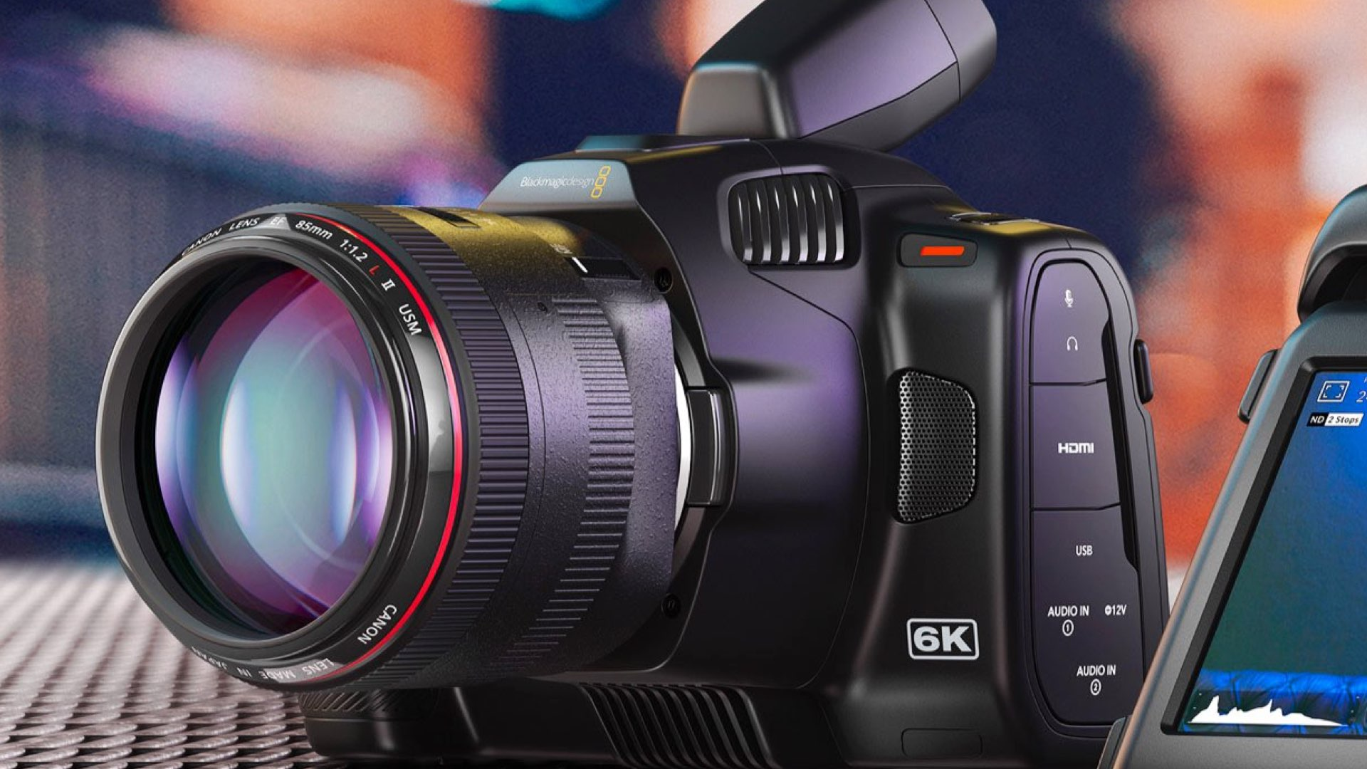 Blackmagic Pocket Cinema Camera 6K Pro cechy kamery