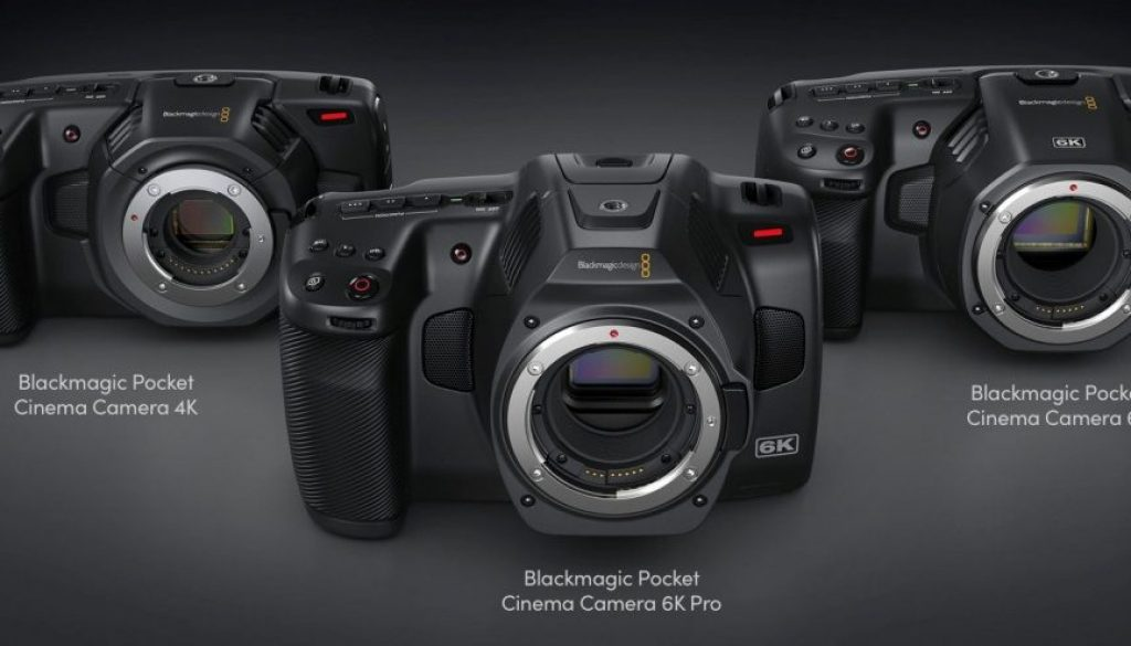 Blackmagic Pocket Cinema Camera 6K Pro wszystkie modele
