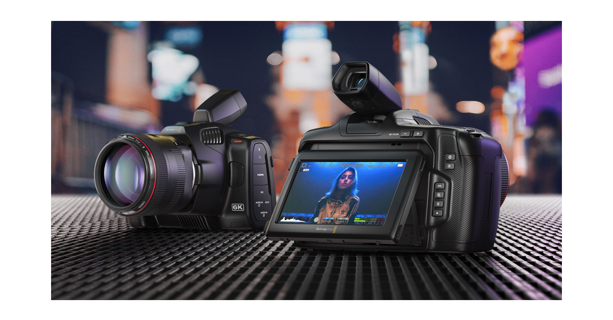 Blackmagic Pocket Cinema Camera 6K Pro ekran