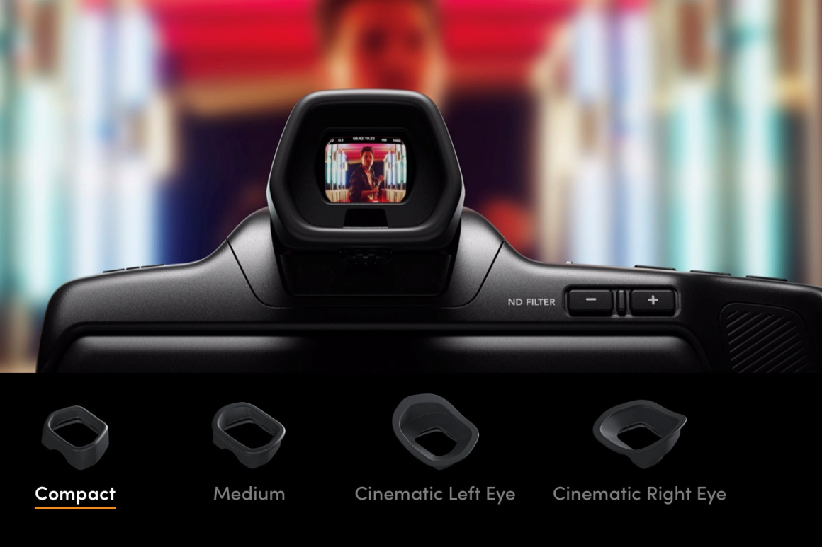 Blackmagic Pocket Cinema Camera 6K Pro viewfinder